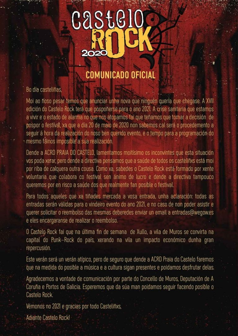 aplazamiento-castelo-rock-2020