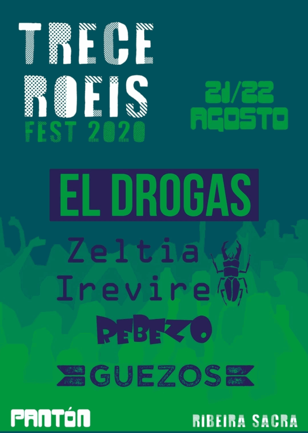 Avance cartel Festival Trece Roeis 2020