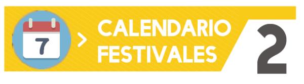Calendario festivales