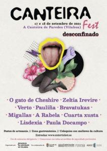 Cartel completo Canteira Fest 2021