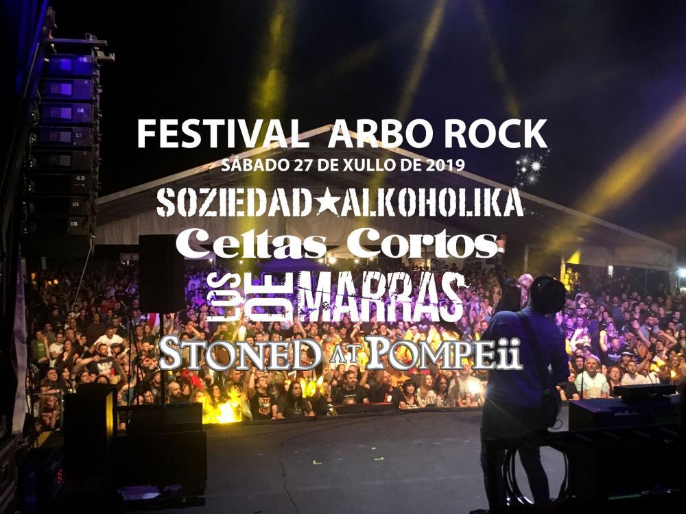 cartel completo arbo rock 2019