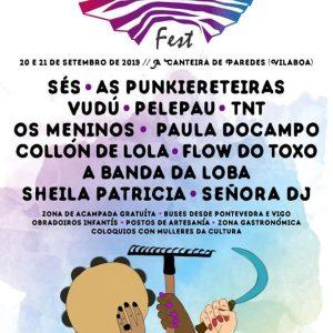 Cartel completo Canteira Fest 2019