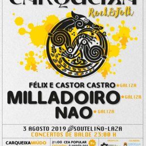 Cartel Completo Carqueixa Rock & Folk 2019