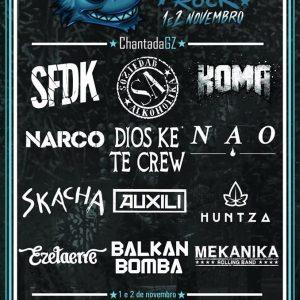 Cartel completo Castañazo Rock 2019