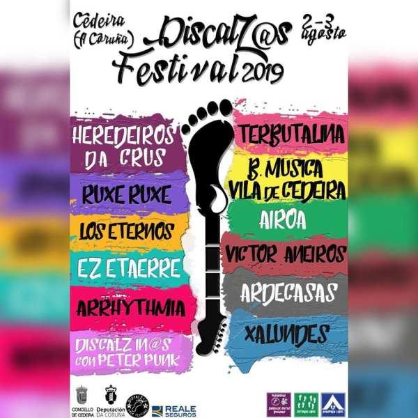 Cartel completo Discalzos Polo Festival 2019