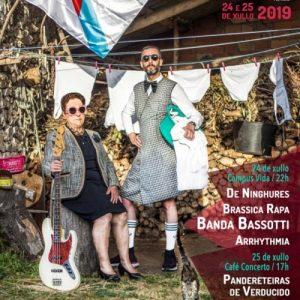 Cartel completo FestiGal 2019 por días