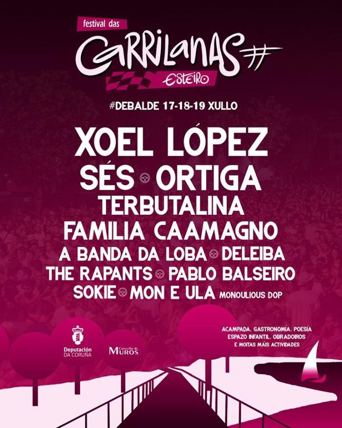 Cartel completo festival das Carrilanas 2020