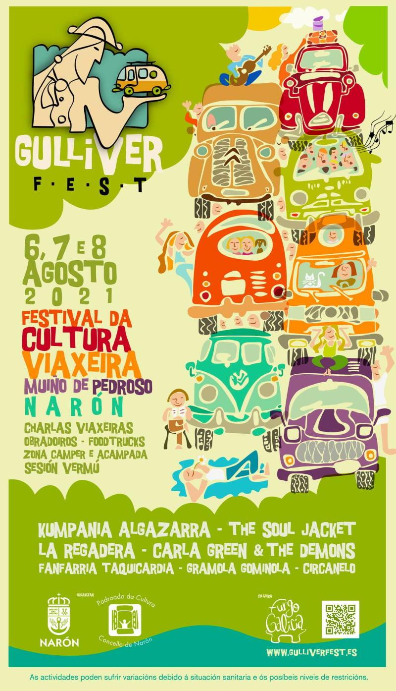 Cartel Completo Gulliver Fest 2021