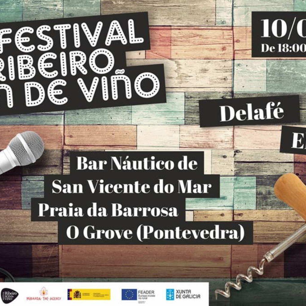 Cartel Ribeiro Son de Viño Náutico de San Vicente 2021