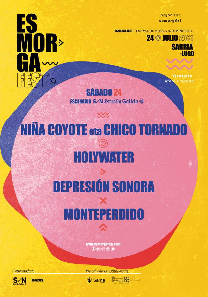 Cartel Completo Esmorga Fest 2021