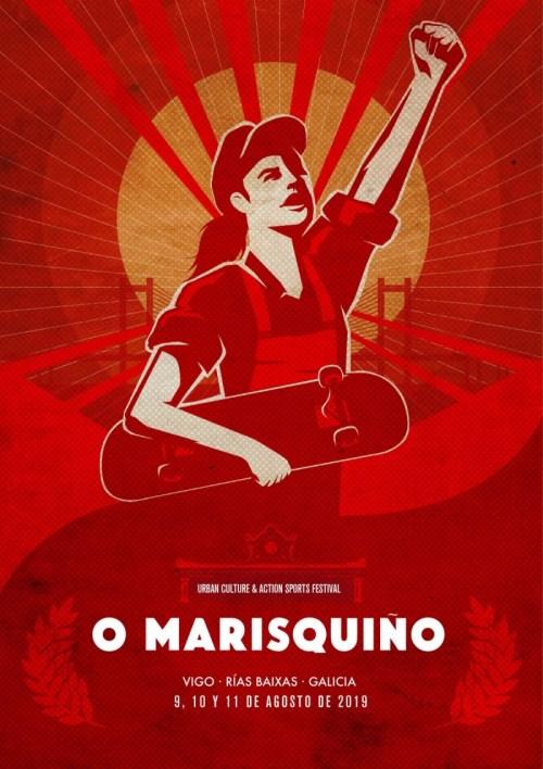 Cartel oficial O Marisquiño 2019