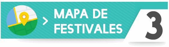 mapa de festivales de Galicia