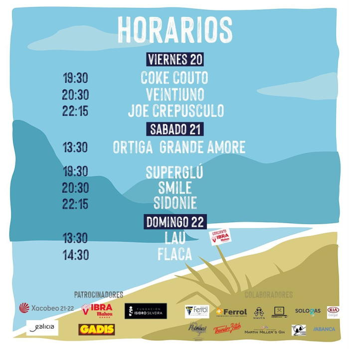horarios Nachiños Fest 2021