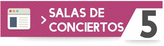 Guía de salas de conciertos de Galicia
